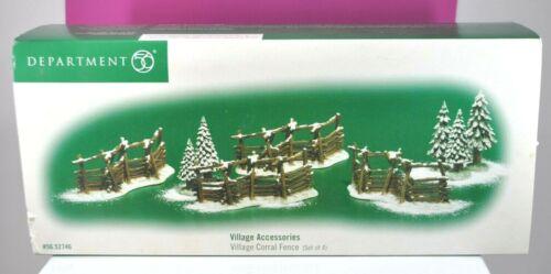 Village Corral Fence Department 56 Village Accessories 52746