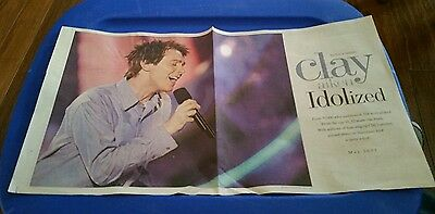 American Idol Clay Aiken Idolized May 2003 news and observer insert