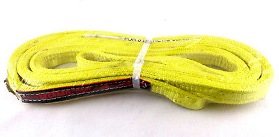 Eet-4-901 X10ft Nylon Lifting Sling Strap 1 Wide 10 Feet Long Usa Brand New