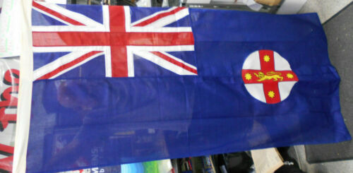 #LL4.     LARGE  AUSTRALIAN  NEW SOUTH WALES  FLAG