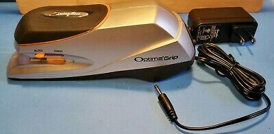 Swingline S7048207 Optima Grip Electric Stapler 20 Sheet Capacity Silver 48207
