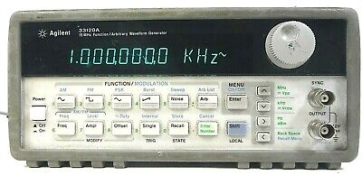 Agilent 33120a 15 Mhz Function Arbitrary Waveform Generator - Free Shipping