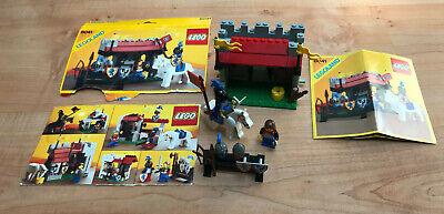 LEGO vintage castle 6041 Armor Shop complet avec instructions et couverture