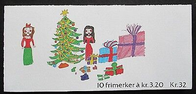 Norway 1990 Christmas Booklet (32k). MNH.