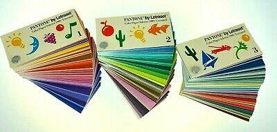 Pantone By Letraset Color Paper Selector 1000 3 Book