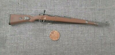 """1/6 Scale WWII German Infantry KAR98 Rifle for 12"""" Action Figure NHW-98, used for sale  Shipping to Canada"""