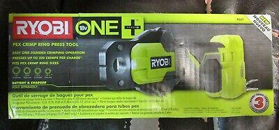 Ryobi P661 Pex Crimp Ring Press Tool Brand New