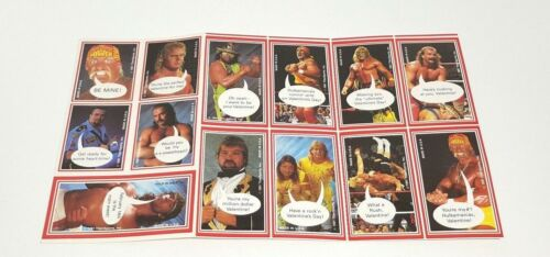 1991 WWF Valentines Day Cards 13 Uncut Hulk Hogan Warrior Rockers by TitanSports