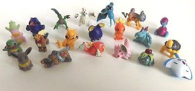POKEMON 20 Pieces Pokemon Go Figures Small Mini Micro Figures Set - Set 17