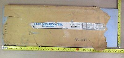 O1 Tool Sheet 38 X 6 X 18 Simonds Flat Ground Die Steel Oil Hardening