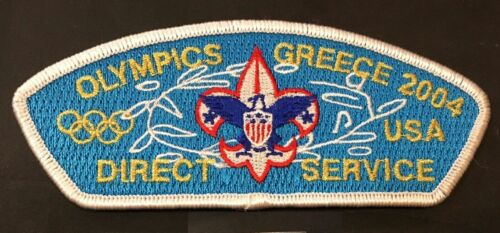 CSP Direct Service Greece Olympics 2004 Patch only