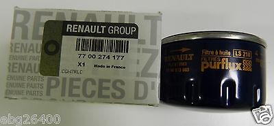 Gen Renault Oil Filter. Part Number 7700274177,Clio/Megane/Scenic/Kangoo/1.4/1.6