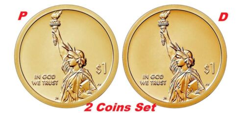 2-coin-set 2018 P-D American Innovation Dollar $1 from US Mint Rolls New Series