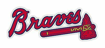 Atlanta Braves Decal / Sticker Die - Braves Atlanta
