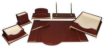 Majestic Goodsburgundy And Golddesk Set
