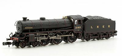 GRAHAM FARISH N GAUGE 372-079 'ROEDEER' LNER BLACK CLASS B1 LOCO 1040 *NEW*