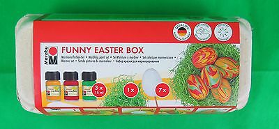 Marabu Marmorierfarbe Funny Easter Box