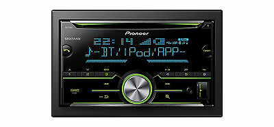 Pioneer FH-X730BT Autoradio 2 DIN con lettore CD-USB Bluetooth ingresso Aux-in