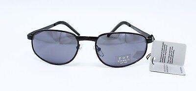Wholesale 12 Pairs Unisex Black Metal Frame Sunglasses #P603-12 - Wholesale Black Sunglasses