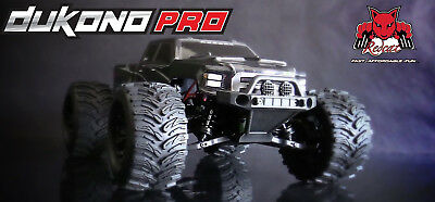 REDCAT Dukono PRO 1/10 Scale Brushless High Clearance Chasis RC Monster (Monster High Clearance)
