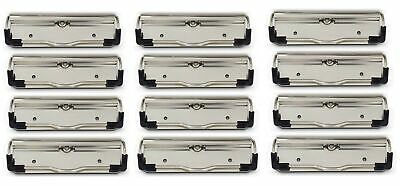Heavy Duty Mountable Clipboard Clips By Saunders Made In Usa 12 Each Low Pr...