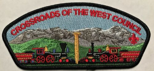 NEW COUNCIL! BSA UTAH CROSSROADS OF THE WEST OA LODGES 520 535 508 S1 FIRST CSP