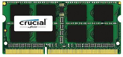 Crucial 8gb Ddr3l-1866 Sodimm Memory For Mac - 8 Gb [1 X 8 Gb] - (ct8g3s186dm)