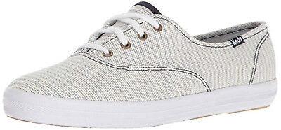 Keds CH Champion Railroad Fashion Sneakers Blue Stripe New & Boxed