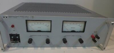 Hp Harrison 6274a Dc Power Supply 0-60v 0-15a Tested And Working