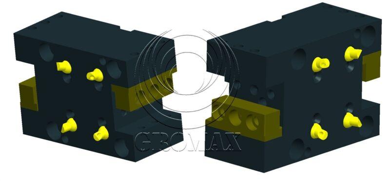 Nl1500-c25.4x2-70 Double Head Cut Holder1