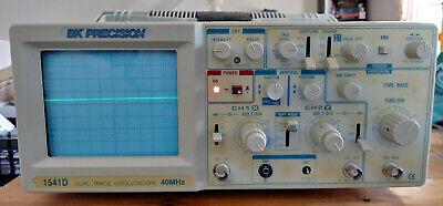 Bk Precision Dual-trace 40 Mhz Oscilloscope Model 1541d