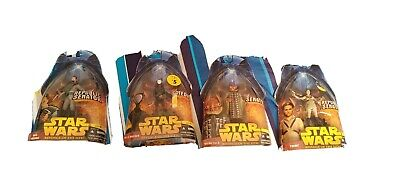 Hasbro Star Wars Revenge of the Sith 4 action figures