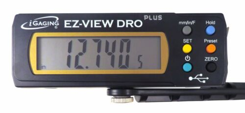 """Igaging 6"""" 150 mm Digital Readout / Read Out DRO w Remote Magnetic LCD display"""