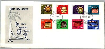GP GOLDPATH: TOKELAU ISLANDS COVER 1971 FIRST DAY COVER _CV677_P12