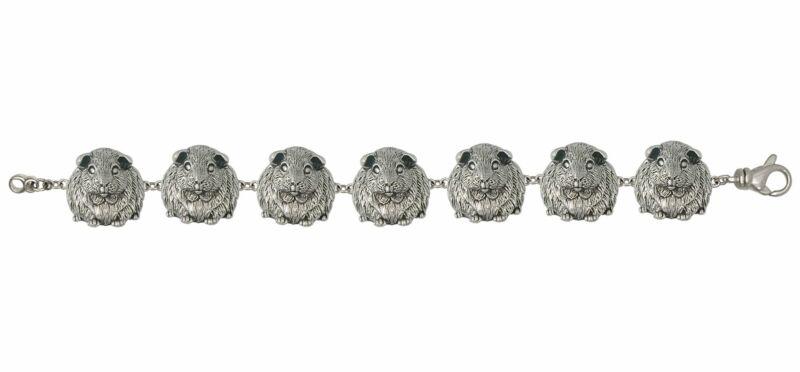 Guinea Pig Bracelet Jewelry Sterling Silver Handmade Piggie Bracelet GP1-BR