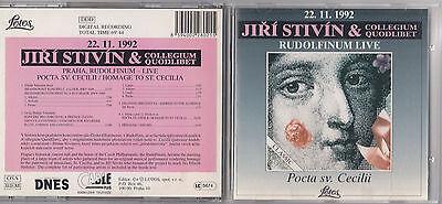 Jiri Stivin   Collegium Quodlibet   Rudolfinum   Live Cd 1992 Lotos