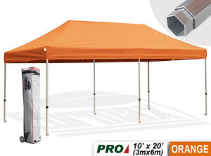 New PRO 10X20 Heavy Duty Ez Pop Up Professional Canopy Outdoor Party Tent Gazebo