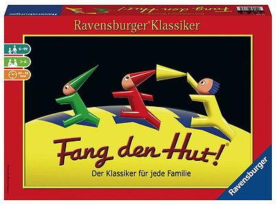 Ravensburger Familienspiel Klassiker Würfelspiel Fang den Hut! - Würfel Hut