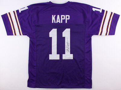 cdeef85b1 Joe Kapp Signed Vikings Jersey (JSA) NFL Champion (1969) 7 TD Passes 1 Game