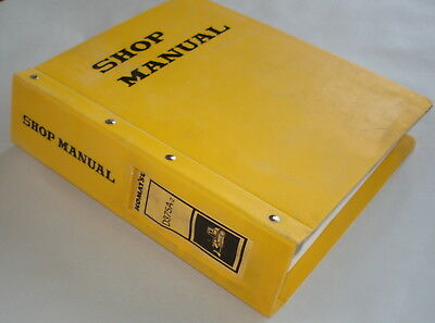 Komatsu Bulldozer D375a-2 Shop Manual