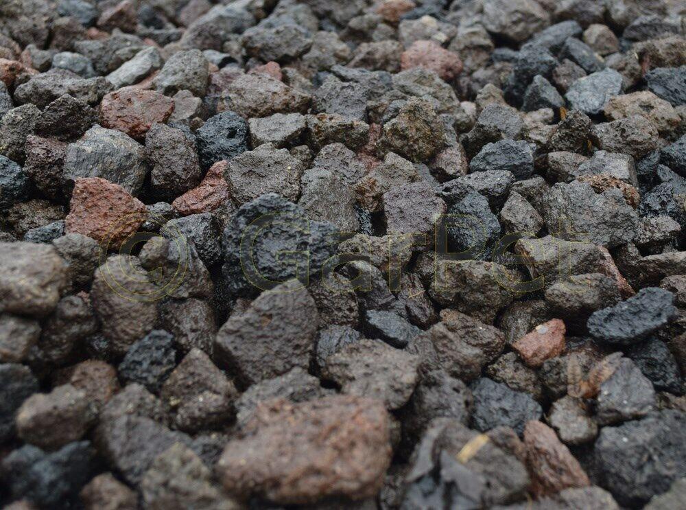Lavastein 16/32mm Lava Kies Granu Gas Grill Filtermaterial Garten Aquarium Teich