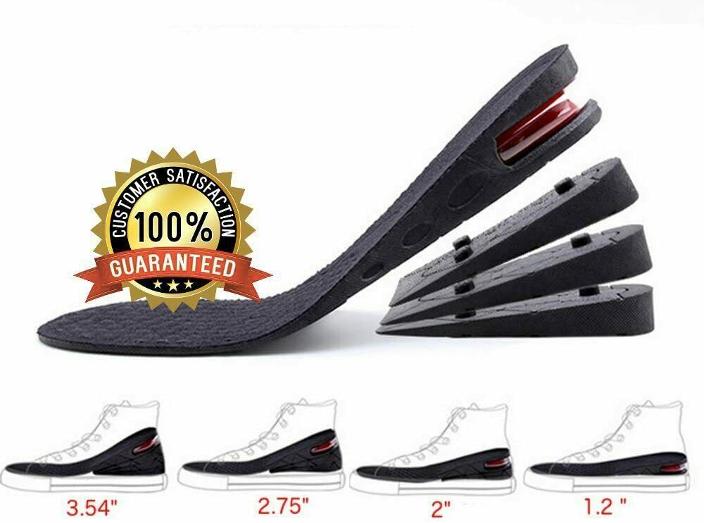 Height Increase Insole,Insole Lift Kit,4-Layer 1.2′ to 3.5′ Orthoric Heel Lift Clothing & Shoe Care