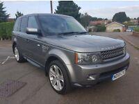 2010 Model Land Rover Range Rover Sport 3.6 TDV8 HSE Facelift BLACK LEATHER. P/X & Finance Welcome