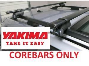 "NEW* YAKIMA STEEL AERO COREBARS 60"" 8000422 214645719 for Roof Racks SET OF 2"