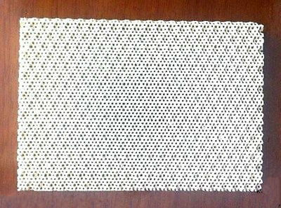 55mmx55mm X12.5mm Soldering Board Ceramic Honeycomb Solder Board Heating Ey-ca