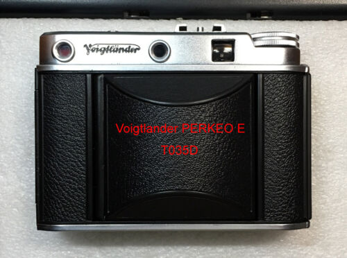 Voigtlander Perkeo E replacement leatherette cover precisely cut self-adhesive!