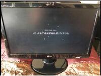 "LG flatscreen pc monitor 20"""