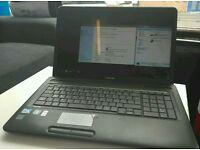 "17"" Toshiba laptop"