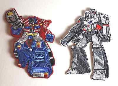 Transformers OPTIMUS PRIME & MEGATRON Embroidered Costume PATCH Set of 2 - Transformers Optimus Prime Costume