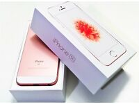 Sim Free Apple iPhone SE 32GB Mobile Phone - Rose Gold